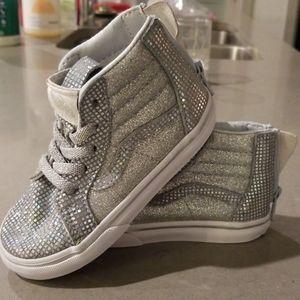 Girls Toddler Van's Shoes 7.5